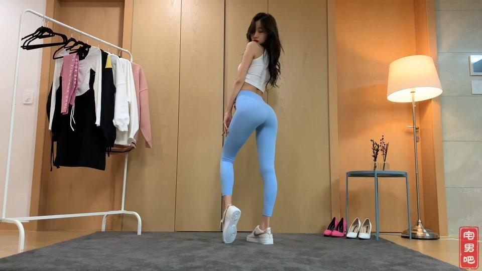 韩国瑜伽妹 韩国口罩妹 韩国主播 徐雅 vlog